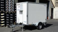 Kühlanhänger Mr. Been 1300 kg einachser 2453 x 1446 x 1800 mm bis 6°C - 100 km/h Kühlwagen Kühlkoffer Kühlhänger Langzeitmiete