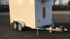 Kühlanhänger Kühlwagen Getränkeanhänger ausleihen Verleih