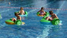 Paddel Boote / Paddler / Kinderboote
