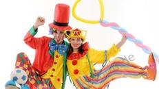 Clown buchen, Clown mieten, Kinderparty, Kinderanimation