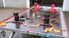 Motorradanhänger für bis 4 Motorräder PKW Anhänger/Anhängerverleih/Anhängervermietung