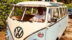 VW Bulli T1 Samba, Hochzeitsauto, Chauffeur/-in
