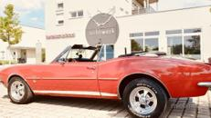 Camaro Cabrio Bj. 67, Hochzeitsauto, Chauffeur/-in, Oldtimer