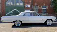 Chevrolet Impala Bj. 63, Hochzeitsauto, Chauffeur, Oldtimer