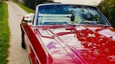 Mustang Cabrio Bj. 68, Hochzeitsauto, Chauffeur/-in