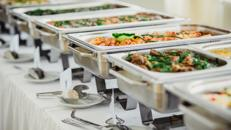 Chafing Dishes Buffet Wärmer Wärmebehälter