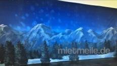 Berglandschaft Kulisse, Schnee, Winter, Weihnachten