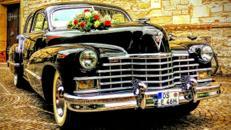 Cadillac Fleetwood 60 Special V8, 1946, schwarz