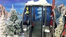 Ski Gondeln, Gondel, Weihnachten, Winter, Schnee, Berge, Skifahren