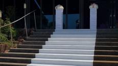 Hochzeitsteppich / Hochzeitsläufer / Teppichläufer Verlegung