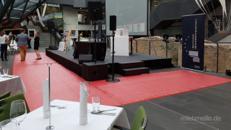 Messeteppich / Messeteppichboden / Messe Teppich  Verlegung