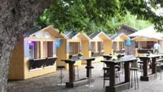 Verkaufs-Hütten, Weihnachtsmarkt-Hütten in unterschiedlichen Größen zur Miete