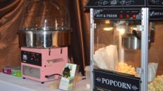 Zuckerwatte in versch. Farben & Gemacksrichtungen