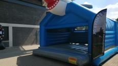 Hüpfburgen 5x5m mit Dach HAI oder PFERD