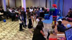 Clown Popcorn Zuckerwatte Palyaco Ballonmodellage sünnet