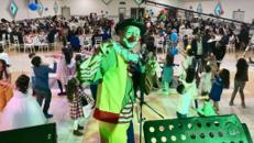 Clown für Sünnet, Geburtstag etc. mit Popcorn Zuckerwatte Palyaco Ballonmodellage