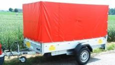 Plananhänger 750 kg ungebremst 2510 x 1280 x 1300