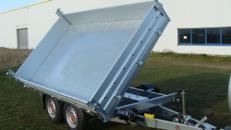 Dreiseitenkipper – Hochlader 2.700 kg gebremst 100 km/h
