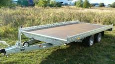 Fahrzeugtransporter Hochlader 2700 kg gebremst / 100 km/h 4010 x 2030