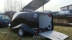 Excalibur Anhänger S 2 / 1500 kg gebremst / 100 km/h 2er Motorradanhänger
