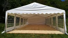 14x6m Zelt für alle Arten von Veranstaltungen, Partyzelt, Festzelt, Eventzelt, Pagodenzelt, Pavillon