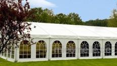 Festzelt 6 x 8m Zelt für alle Arten von Veranstaltungen, Partyzelt, Festzelt, Eventzelt, Pagodenzelt