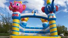 Hüpfburg Fun für bis zu 10 Kinder - mieten