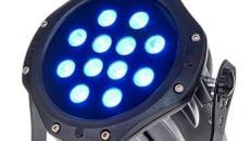 Outdoor LED Scheinwerfer 12x3Watt - RGB DMX mieten