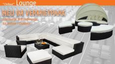 Lounge Eckcouch Outdoor / Indoor bis zu 9 Sitzplätze mieten