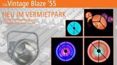 Vintage Blaze Retrolampe mieten