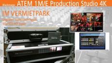 ATEM 1 M/E Production Studio 4K // Videomischpult mieten