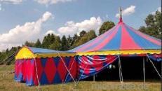Zirkuszelt Circuszelt Theaterzelt Partyzelt Eventzelt Zelt Feier Hochzeit