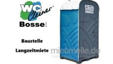 WC-Kabine, mobile Toilette, Baustellenklo