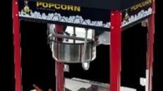 Popcornmaschine klein und groß