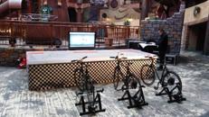 Bike Slotcar Bahn