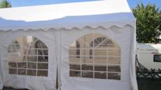 Partyzelt, Pavillion, Zelt, 4x8 m, Gartenzelt. Sitzen Sie im Trockenen mit dem 4x8 m Partyzelt für Ihre Feier.