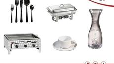 Geschirr | Bestecke | Glaswaren | Mietequipment