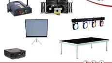 Veranstaltungstechnik | Mietequipment