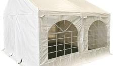 Partyzelt 4x4m Festzelt Zelt Wasserdicht Vermieten Neumünster. Hervorragend für Party, Fest, Geburtstag - Sommer, Winter, Kids und Erwachsene