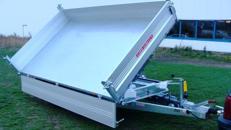 Dreiseitenkipper Hochlader 3000 kg gebremst E-Pumpe + Handpumpe 100 km/h