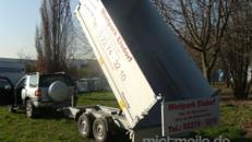 Dreiseitenkipper Hochlader 3500 kg gebremst E-Pumpe + Handpumpe 100 km/h