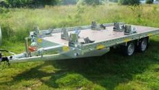 5 – 6er Motorradanhänger 3000 kg gebremst bis 6 Motorräder mit 100 km/h
