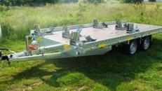 5er bis 6er Motorradanhänger kippbar 3000 kg gebremst  auf über 5 m Länge – 100 km/h