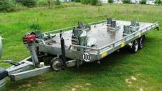 8er Motorradanhänger kippbar 3500 kg gebremst  – 100 km/h