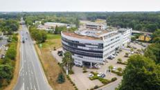 Großzügige Büroabteilungen im Sirius Office Center Neu-Isenburg