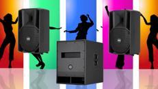 Partyanlage, Tonanlage, Musikanlage. Musikkomplettpaket für Ihre nächste Party!
