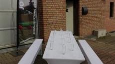 Hussen für Bierzeltgarnituren und Stühle *DEUTSCHLANDWEITER VERSAND*