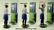 Virtuelle Torwand - Balancespiel
