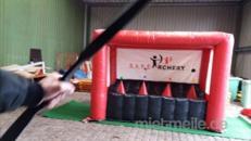 Bogenschießen mit Sicherheitspfeilen