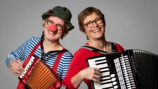 Musikcomedy: Clownerie und Akkordeon